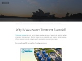 Why Is Wastewater Treatment Essential?