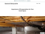 Importance of Encapsulation for Your Crawl Space.