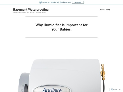 Why Humidifier is Important for Your Babies.