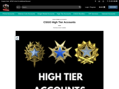 Where To Buy CSGO High Tier Accounts