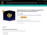 Buy Gold Nova 1 Prime Accounts From WayToSmurf
