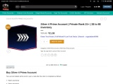 CSGO Silver 4 Prime Account In Discount