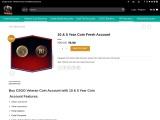 Buy Veteran Coin CSGO Smurf Accounts