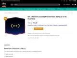 CSGO Gold Prime Nova 2 Accounts From waytosmurf