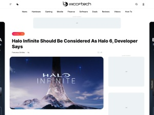 Halo Infinite Should Be Considered As Halo 6, Developer Says