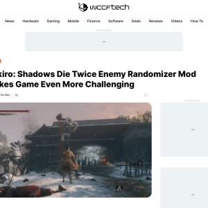 Sekiro: Shadows Die Twice Enemy Randomizer Mod Makes Game Even More Challenging