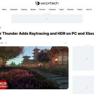 War Thunder Adds Raytracing and HDR on PC and Xbox One