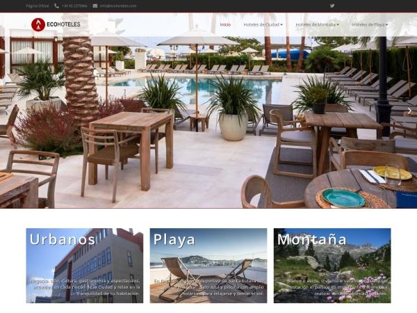 ECO HOTELES - WEB OFICIAL - Ecohoteles