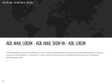 AOL MAIL LOGIN entertainment adver