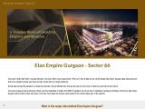 Elan Empire Gurgaon Sector 66