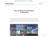 Tips and Tricks to Use Windows 10 Effectively