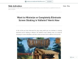 Want to Minimize or Completely Eliminate Screen Shaking in Valheim? Here's How