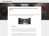 Web designing solutions | Website design resources