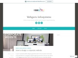 How to design a corporate website
