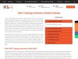 Best seo training institute in noida and delhi