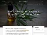 How To Choose The Right CBD Products