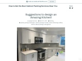 Suggestions to design an Amazing Kitchen!
