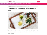 The Benefits of Using CBD and The Health Benefits