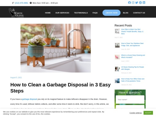 How to Clean a Garbage Disposal in 3 Easy Steps