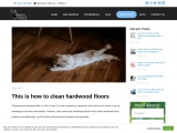 This is how to clean hardwood floors