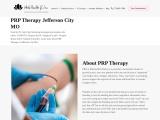 PRP Therapy Jefferson City MO Whole Health JC