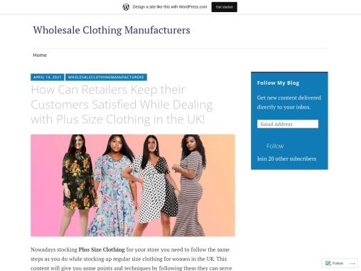 Curve Plus Size Clothing – Buy Bulk Pus Size Clothes Online UK!
