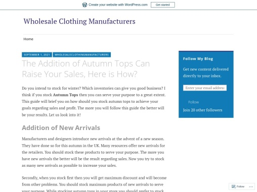 Wholesale Autumn Winter Tops – Instructions To Buy Wholesale Autumn Winter Tops In Uk!