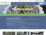 Buff Mexican Beach Pebbles – Easy to Spread and Maintain