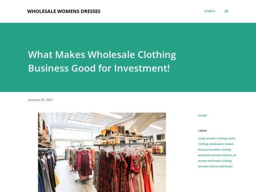 Ladies Clothing Wholesale Suppliers – Womens Fashion Wholesalers Uk