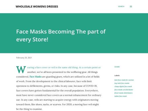 Digital Face Mask Online – Wholesale Face Masks