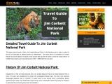 Travel Guide To Jim Corbett National Park | Jim Corbett Tour Packages