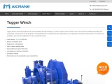 Two Main Types of Tugger Winches