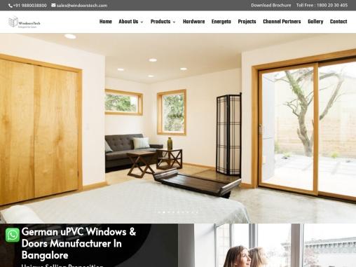 German uPVC windows in Bangalore   Premium quality upvc