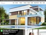 uPVC Sliding Windows in Bangalore   uPVC Sliding Doors