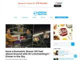 Have a Romantic Dinner 130 Feet Above Ground with EK's Enchanting K-Dinner in the Sky