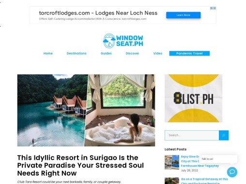 This Idyllic Resort in Surigao Is the Private Paradise Your Stressed Soul Needs Right Now
