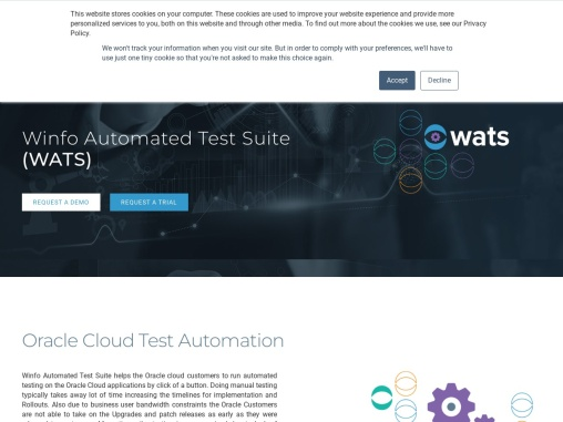 Best Oracle Automation Testing Services | UK | Winfo Solutions