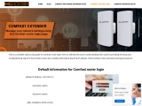 comfast router login process steps