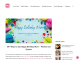 50+ Ways to Say Happy Birthday Mom – Wishes and Quotes