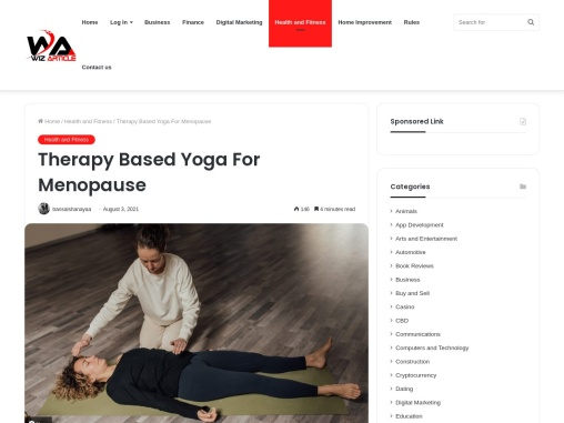Therapy Based Yoga For Menopause
