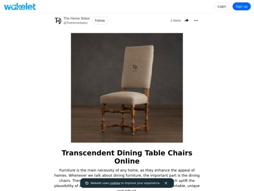 Transcendent Dining Table Chairs Online