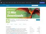 WordPress › BackWPup Free – WordPress Backup Plugin « WordPress Plugins