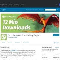 WordPress › BackWPup Free - WordPress Backup Plugin « WordPress Plugins