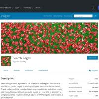 WordPress › Search Regex « WordPress Plugins