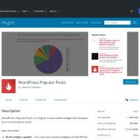 WordPress › WordPress Popular Posts « WordPress Plugins