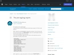 WordPress › Support » The pre tag bug report.