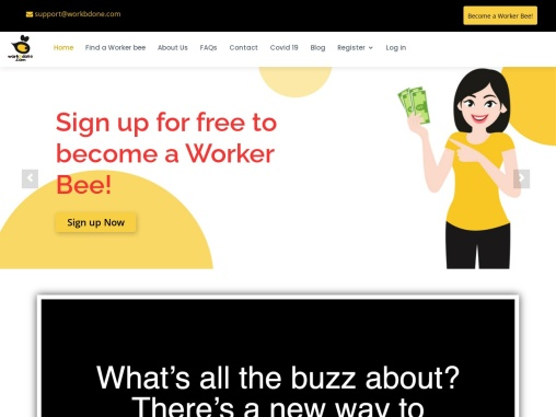 WorkBDone- Side Hustle Jobs |photography jobs | Laundry Job