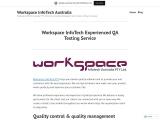 Workspace InfoTech Experienced QA Testing Service
