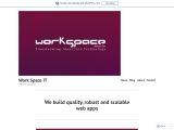 We build quality, robust and scalable web apps