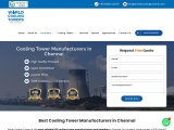 Manufacturer of FRP Cooling Tower in Chennai